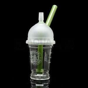 Marijuana Collectibles - Dabuccino rig by Hitman Glass.