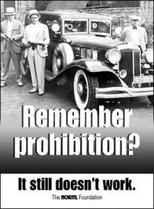 Posters like this one from NORML will become tomorrow's marijuana collectibles.