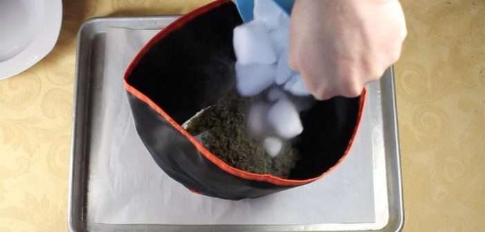 Making Dry Ice Kief