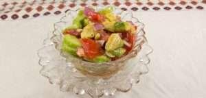 Marijuana Recipes: Avocado, Cucumber and Tomato Salad