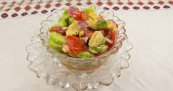 Marijuana Recipes: Avocado, Cucumber and Tomato Salad