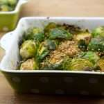 Marijuana Recipes - Roasted Sesame Soy Ginger Brussels Sprouts