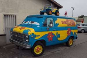 Scooby Van at the Original McDonald's Museum, San Bernardino, CA
