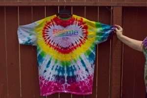 High Tie Dye - Bernie get the tie dye treatment!