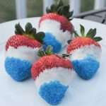4th of July Marijuana Recipes -- Cannabis Dipped Strawberries