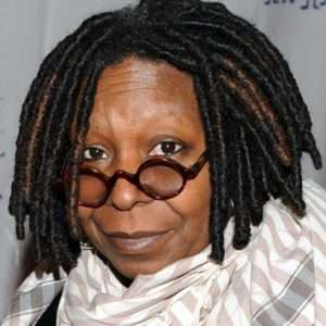 Senior Stoner Whoopi Goldberg loves her vape pen.